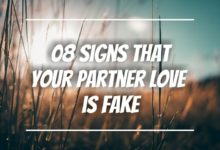Photo of 08 Sign that Your Partner Love is Fake   Behavior Psychology